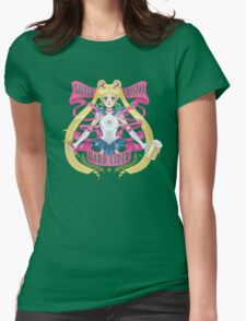 Silver Crystal Hard Cider Womens Fitted T-Shirt