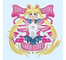 Silver Crystal Hard Cider Photographic Print