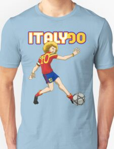 Italy 90 vintage soccer player T-Shirt
