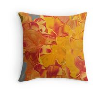 tiger lily - a different view Throw Pillow