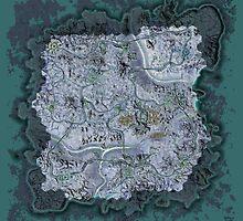 Continent of Esamir by mirroroworld