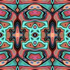 Colorful Abstract Clusters 1 by Phil Perkins