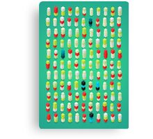 Robotz - Candy Crushing Canvas Print
