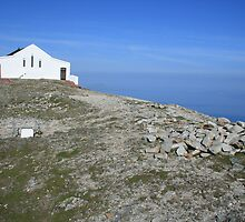 Croagh Patrick church view by John Quinn