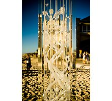 Crystal in the Sand Photographic Print