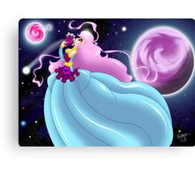 Strife of a Princess Canvas Print