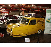 1971 Reliant Regal SuperVan mk3 Photographic Print