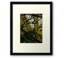 Wrought iron staircase Framed Print