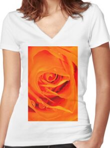 Your Love Brings Me Life Women's Fitted V-Neck T-Shirt