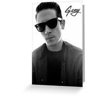 G-Eazy Greeting Card
