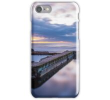 Sutro Baths at sunset iPhone Case/Skin