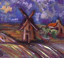Dutch landscape by sword