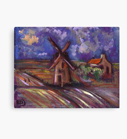 Dutch landscape Canvas Print