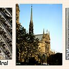 Paris Series 12 Notre Dam Cathedral by Keith Richardson