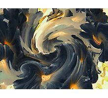 Licorice Butterscotch and Cream Photographic Print