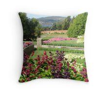 Tassie Botanical Gardens Throw Pillow