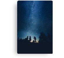 Follow the stars Canvas Print