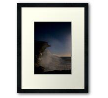 Ghost Wave Framed Print