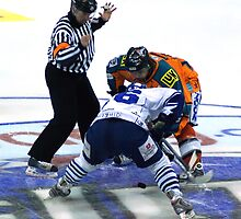 Drop the puck by Kevin Meldrum