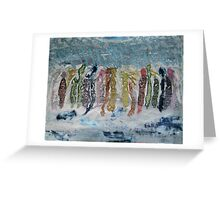 We Are Angels Sometimes Greeting Card