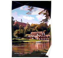 Shrewsbury School and Boat-houses Poster