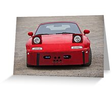 1998 Mazda Miata 'Hannibal' Greeting Card