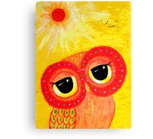 Love Is Like The Sun Canvas Print