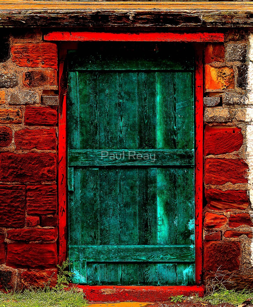 Barn Door by Paul Reay