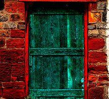 Barn Door by Paul Reay