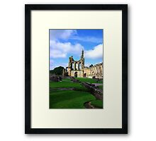 Byland Abbey -6 Framed Print