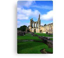 Byland Abbey -6 Canvas Print
