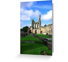 Byland Abbey -6 Greeting Card