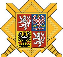 Military of Czech Republic Coat of Arms by abbeyz71