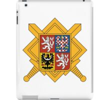 Military of Czech Republic Coat of Arms iPad Case/Skin