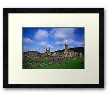Byland Abbey -3 Framed Print