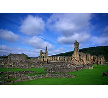 Byland Abbey -3 Photographic Print
