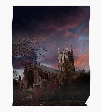 Worcester Cathedral Poster
