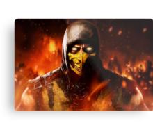 Mortal Kombat - Scorpion Metal Print