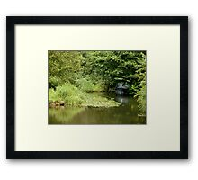 Little Blue Boat Framed Print
