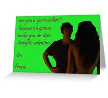 Bellamy/Raven Valentine Greeting Card