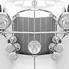 Old car in Symmetry  by spookytrigger