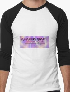 Amazing Grace T Shirt Men's Baseball ¾ T-Shirt