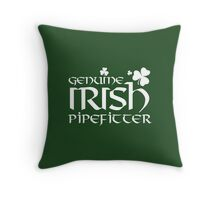 Limited-Edition 'Genuine Irish Pipefitter' T-shirts, Hoodies, Accessories and Gifts Throw Pillow