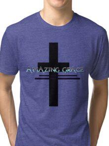 Amazing Grace T Shirt 4 Tri-blend T-Shirt