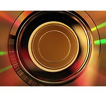 day 25: cd abstract Photographic Print