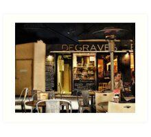 Degraves  Espresso, Degraves Street, Melbourne, Victoria, Australia Art Print