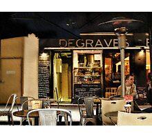 Degraves  Espresso, Degraves Street, Melbourne, Victoria, Australia Photographic Print