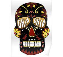 Chio Black Sugar Skull Poster