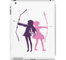 Homura and Madoka-Bow and Arrow iPad Case/Skin