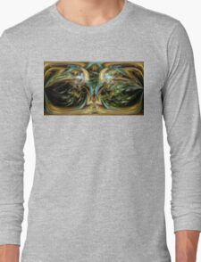 ©DA FS Face Off In Fractal 05V2HDR. Long Sleeve T-Shirt